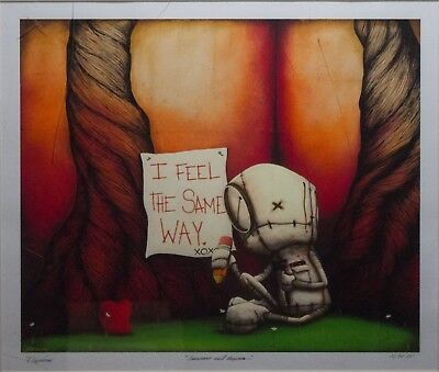 """Fabio Napoleoni; """"Assurance Well Received"""" Giclee on Paper"""