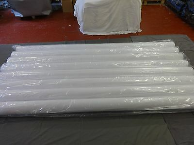 Job Lot 10m White Thermal Blackout Lining 137cm/54inch wide £3.00/m Perfect