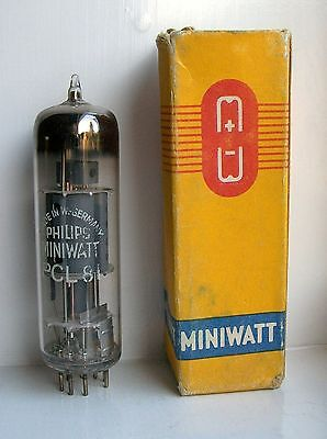 PCL81 Vacuum Tube Radio Valve Brand New Old Stock Cleaned And Tested