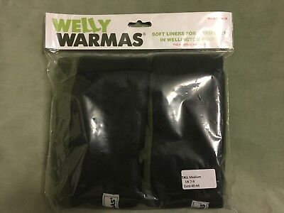 Welly Warmas Tall Medium Uk Size 7-9 Moss Green