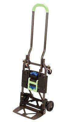 Cosco Shifter Multi-Position Heavy Duty Folding Hand Truck and Dolly Green Cart