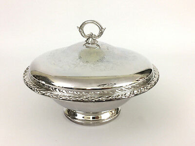 vintage Wm A Rogers silver plated covered serving dish, ONEIDA LTD.
