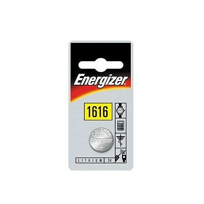 1 X ENERGIZER LITHIUM BATTERY CR 1616 - 3V - Button Cell
