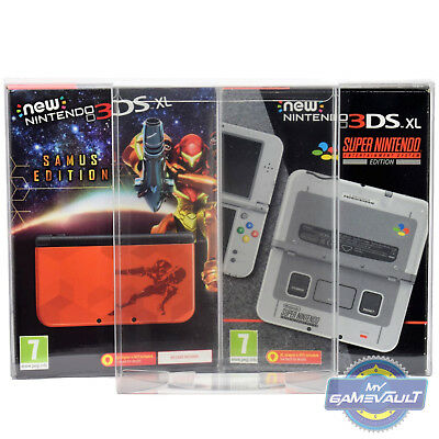 1 x BOX PROTECTOR for NEW 3DS XL Nintendo Console STRONG .5 Plastic Display Case