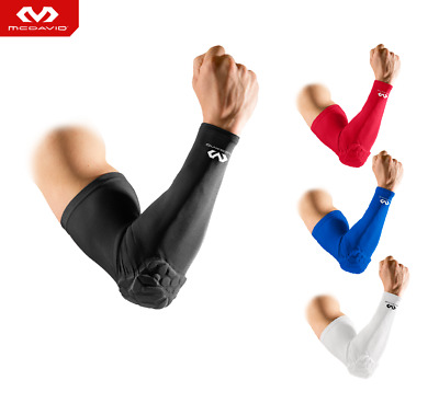 Mcdavid Elbow Arm Sleeve Basketball Compression Hex Pad Protection Power Shooter