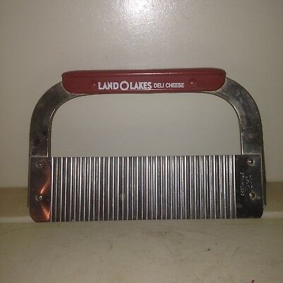 Vintage Land O Lakes Deli Cheese Slicer Cutter