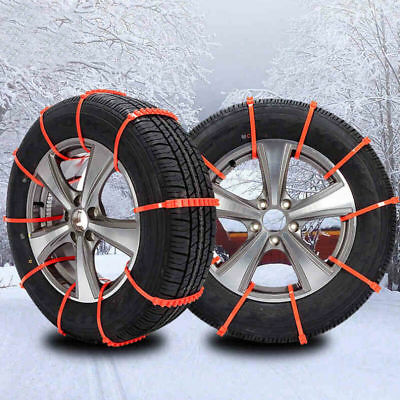 Winter Anti-skid Chains for Car Snow Mud Wheel Tyre Thickened Tire Tendon