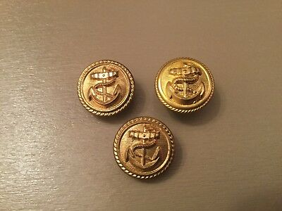 German Navy - Deutsche Marine Post WW11 Military Uniform Buttons