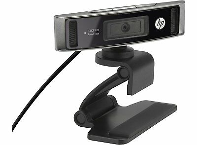 HP HD-4310 1920 x 1080 Pixels HD Web Cam Camera  USB Webcam Mic