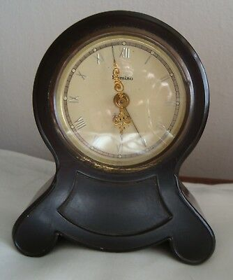 Vintage Bakelite small mantel clock by Domino continental musical? Project spare