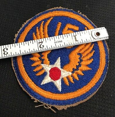 Vintage Ww2 15Th Us Army Air Force  Military Patch Ww Ii Ww 2 Korean War Uniform