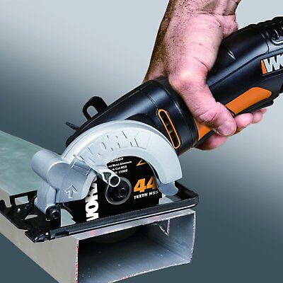Compact Circular Saw Lightweight Wood Metal Plastic Tiles WORX WX423 85mm 400W