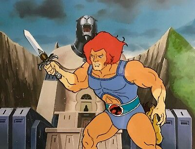Thundercats Original Production Animation Anime Cel Lion-O Sword of Omens 1985!