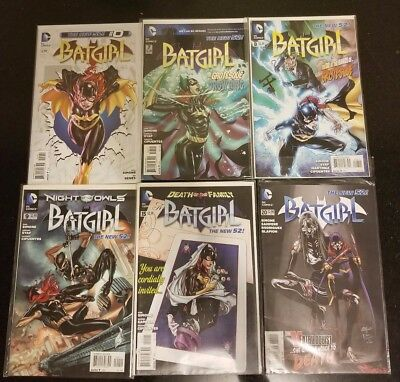 Batgirl DC Comics New 52 Lot: #0, 7, 8, 9, 15, 20, 21, 28, 33, 46