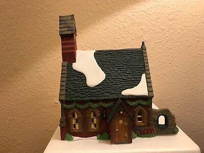 """Dept. 56 """"Dudden Cross Church"""" from the Dickens' Village Series 58343 with Box"""