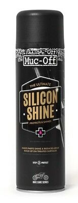 Muc-Off Silicon Shine Silcon Spray 1 x Dose 500 ml