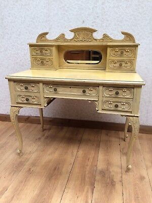 Edwardian Carved Writing Desk