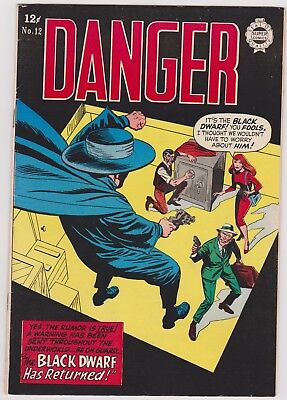 RED SEAL Comics no.14.  Chesler/Dynamic 1945. IW Reprint: Danger no.12 from 1963