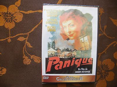 DVD PANIQUE - Julien Duvivier / Lcj Editions (2008)  Michel Simon   NEUF BLISTER