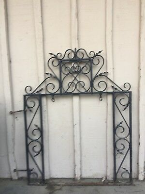 Rare 1890's ornate wrought iron antique Pub Sign holder from English Pub.