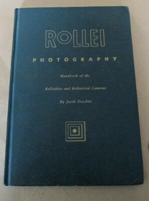 Rollei Photography by Jacob Deschin 2nd Ed.
