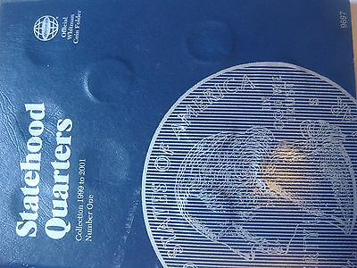 Lot of 21 State Quarters  1999-2001 in Whitman Folder; PD Mints  #350