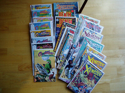 Huge Comic 25 Book Lot Schultz Xenozoic Tales Cadillacs & Dinosaurs Death Rattle