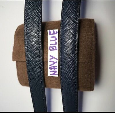 Replacement Straps NAVY BLUE new/like Michael Kors Straps