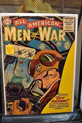 All American Men of War #33 DC Golden Age Comics 1956 World War II WWII