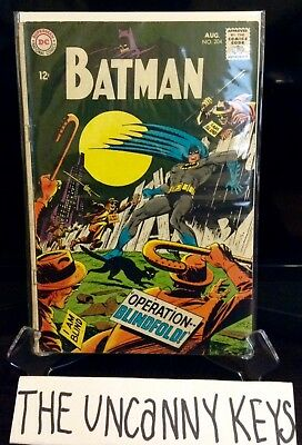Batman #204 (1968 DC Comics) Robin appearance SILVER AGE CHECK OUT MY LISTINGS