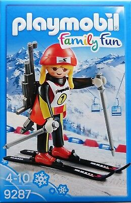 Playmobil Family Fun 9287 Biathletin NEU OVP