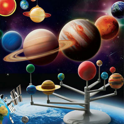 Solar System Planetarium Model Kit, educational learning children toy games