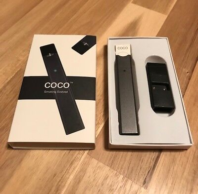 NEW JUUL Device + Charger-COCO-Vape Pen E Cig (BETTER THAN JUUL!) Fast Shipping!