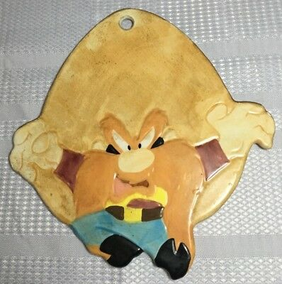 Vintage Yosemite Same Trivet 1993 Looney Toons Warner Bros. Excellent Condition