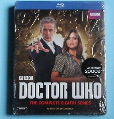 Doctor Who The Complete Eighth Season Blu-Ray Brand New Sealed