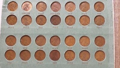 1909 - 1948 1C Lincoln Cent Album