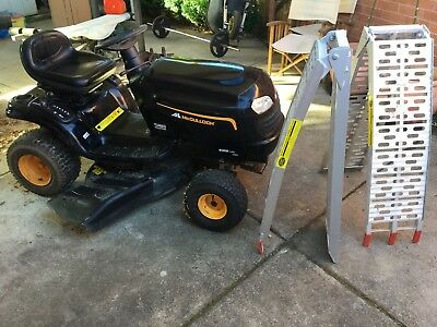 Mcculloch Ride On Mower With Ramps