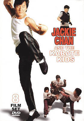 Jackie Chan and the Karate Kids: 8 Film Set (DVD, 2010, 2-Disc Set)
