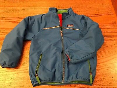 Boys PATAGONIA REVERSIBLE JACKET size 5 Gently Worn NO RESERVE