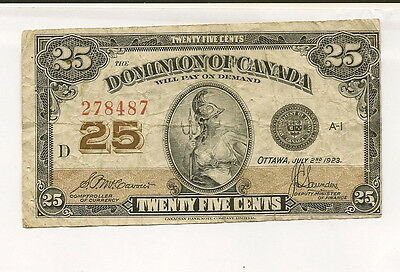 1 old Banknote from Canada! 1923!