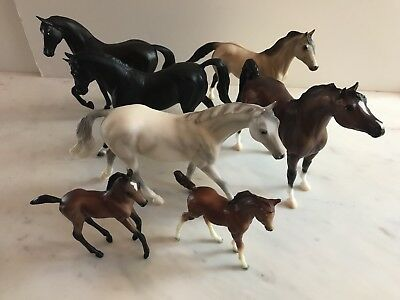 Breyer Classic Horse Lot with Accessories