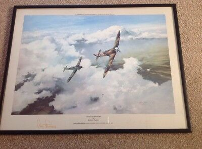 "Robert Taylor ""Duel of Eagles"" Signed by Adolph Galland and Douglas Bader"