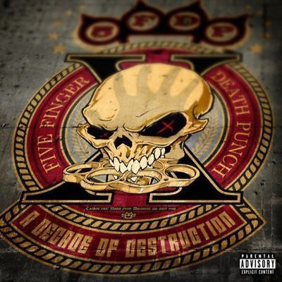 Five Finger Death Punch - Decade Of Destruction, A (inc. 2 new songs) - CD - New