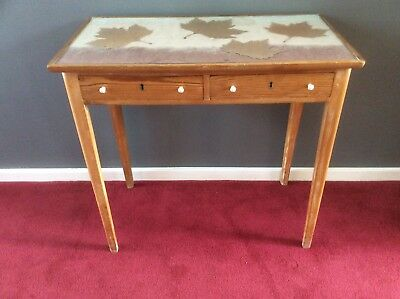FABULOUS Vintage Danish Desk or Side Table Antique by Lysberg, Hansen & Therp.