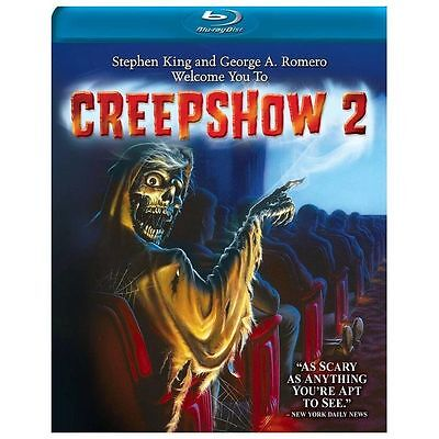 Brand New! Creepshow 2 on Blu-Ray! Stephen King Stories, George A Romero Script!