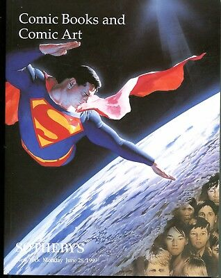 Sotheby's Comic Art & Sci-Fi Auction Ctlg: Alex Ross, Frank Frazetta Art & More!