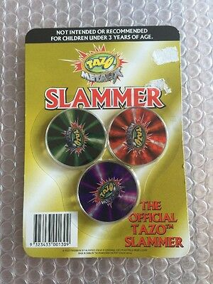 Yu Gi Oh Tazo Slammer Set Sealed New In Packet Metalix Official X3