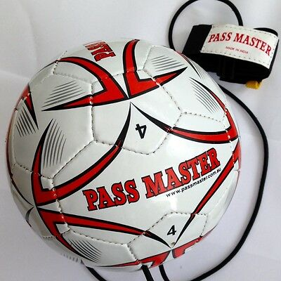 Soccer Ball Size 4 Football Training Ball Pass Master Soccer ball on a string