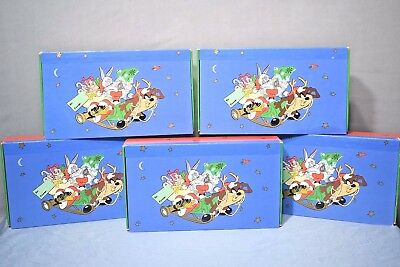 Looney Tunes Christmas gift boxes 1997 lot of 5 C