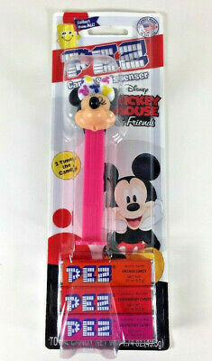 NEW PEZ Dispenser Extra Candy Mickey mouse MINNIE Orange Strawberry Raspberry